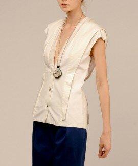 Блуза жилет из хлопка